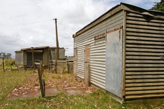disused farm sheds