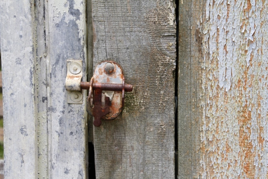 shed door latch