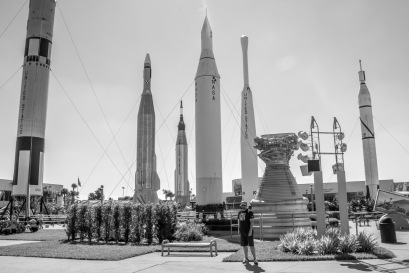 Several historic rockets are planted in the Rocket Garden. Not sure it grows new rockets though.