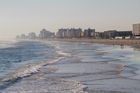 Daytona Beach from the pier