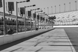 Pit lane, Daytona International Speedway