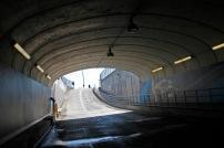 Access tunnel, Daytona International Speedway