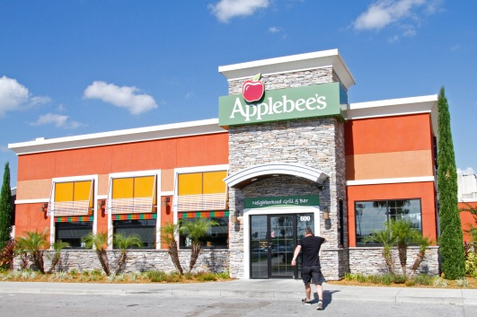 Bye Applebees, it's been great