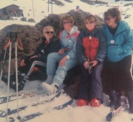 Ski trip to Whakapapa in 1987