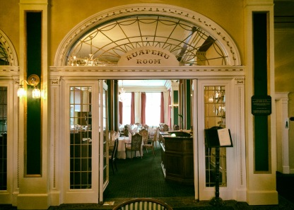 Fancy dining room. We didn't go in there
