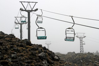 Chairlifts to nowhere today