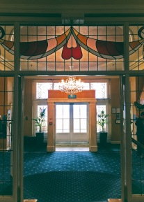 Chateau Tongariro entrance foyer