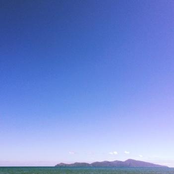 Kapiti Island drive-by