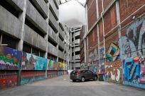 Art, graffiti, tagging / lane off Opera House Lane