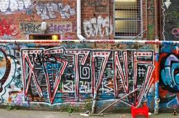 Street art / behind Opera House Lane
