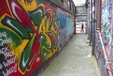 Graffiti / behind Opera House Lane