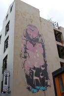 Street art, Lukes Lane, Drypnz / Pirates, 2011