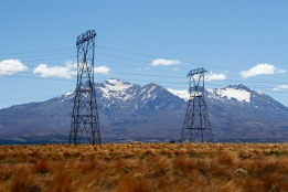 The National Grid marching up the North Island