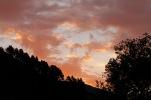 Sunset behind Lake Okareka