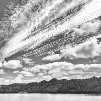 Skies above Lake Okareka
