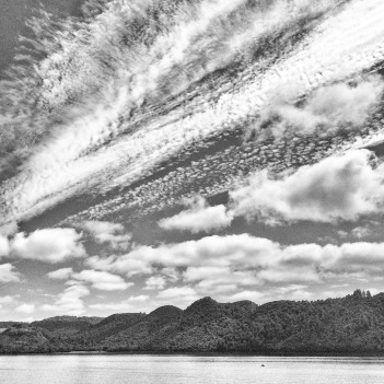 Skies above Lake Okareka