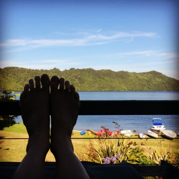 Nice view, shame about the feet