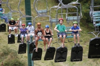 Luge chairlift, Skyline Rotorua