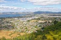 View from Mt Ngongotaha, Rotorua