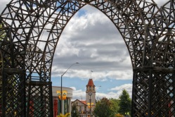 Gate into Government Gardens, Rotorua