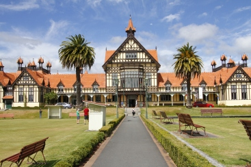 Old bath house, Government Gardens, Rotorua