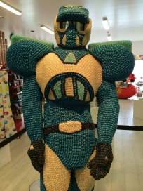 Dude made of jelly beans at Skyline Rotorua