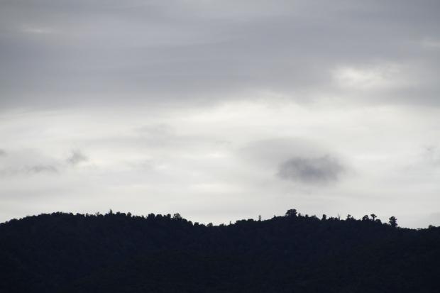Early morning horizon, East Cape