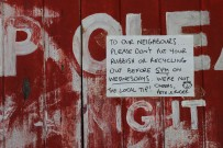 A neighbourly plea!