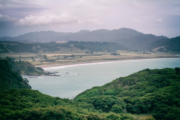 Hicks Bay, named for Captain Cook's crewman Lieutenant Zachariah Hicks who first sighted it. Its Maori name is Wharekahika.