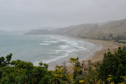 Coastline near Gisborne