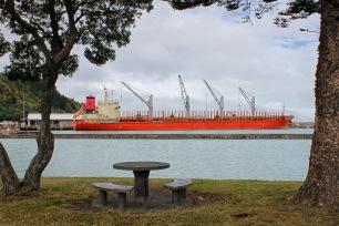 Eastland Port as seen from the Riverside Walkway