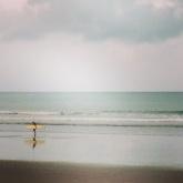 Surfer, Waikanae Beach, Gisborne