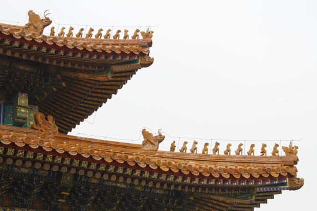 ...The maximum is 10 which only the Hall of Supreme Harmony has.