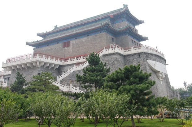 The Arrow Tower served to defend the Zhengyangmen gate back when they were built in the 1400s