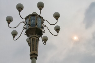 Lamp in Tiananmen Square