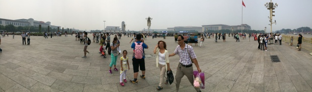 Tiananmen Square panorama - mind the distortions and stutters :)