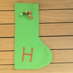 Christmas stocking, around 40 years old give or take!