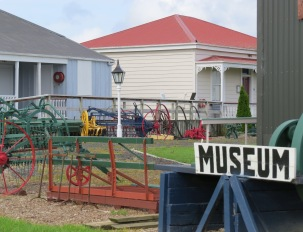 The walkway skirts the Helensville Pioneer Museum