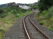 Railway line through Helensville
