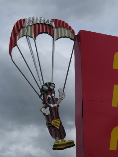 Parakai is known for its skydiving (for people moreso than sausages)