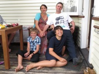 My brother and family