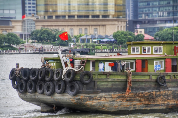 house boat, huangpu river