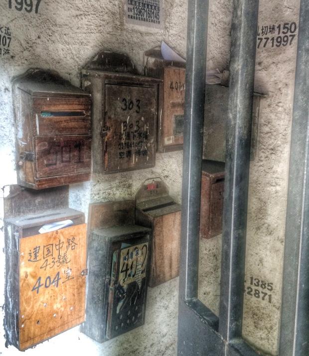 letterboxes, Shanghai