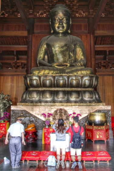 Buddha, Jing'an Temple
