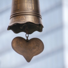 heart bell, Jing'an Temple