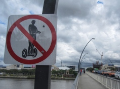 No segways