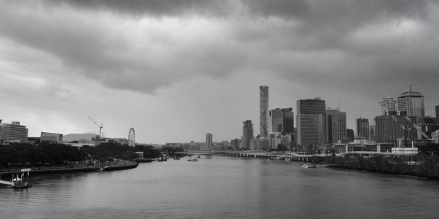 Brisbane from Goodwill Bridge