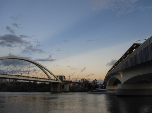 Brisbane River bridges