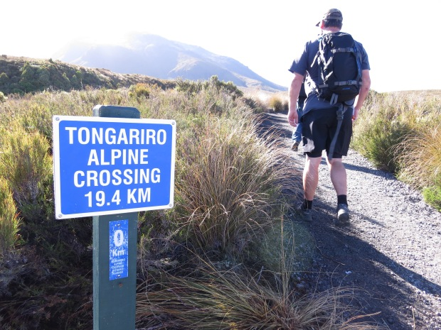tongariro crossing start
