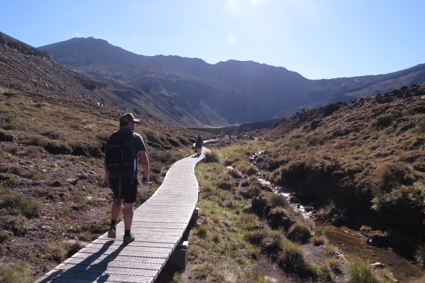 tongariro crossing boardwalk